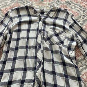 Long Flannel Shirt